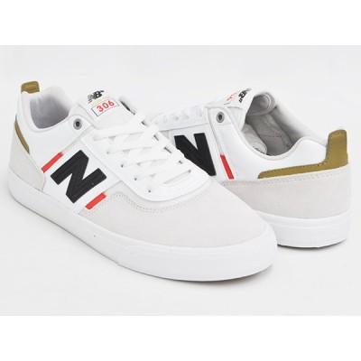 NEW BALANCE NUMERIC NM306 MAR 【ニューバランス ヌメリック 306】 【ジェイミー・フォイ JAMIE FOY】 WHITE / RED