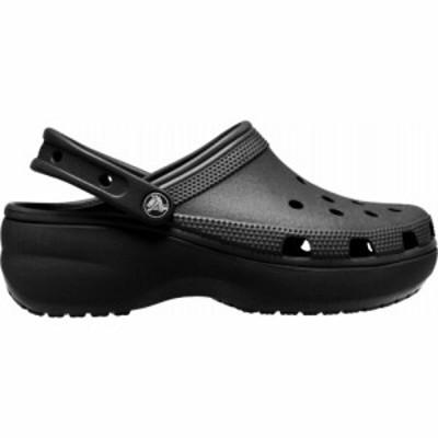 クロックス Crocs レディース クロッグ シューズ・靴 Classic Platform Clogs Black