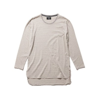 tシャツ Tシャツ Dren border long CS / ドレンボーダーロングカットソー