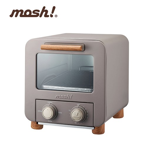 日本mosh!電烤箱 M-OT1 BR 咖啡棕