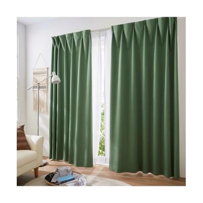 【送料無料!】奥行のある色合いのカチオンミックスドビー織遮熱。防音。1級遮光カーテン ドレープカーテン(遮光あり・なし) Curtains, blackout curtains, thermal curtains, Drape(ニッセン、nissen)