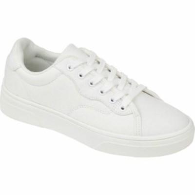 ジュルネ コレクション Journee Collection レディース スニーカー シューズ・靴 Comfort Foam(TM) Jennings Sneaker White