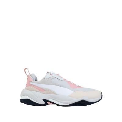 プーマ PUMA スニーカー&テニスシューズ(ローカット) ライトグレー 6.5 革 スニーカー&テニスシューズ(ローカット)