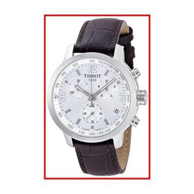 ティソt0554171603700?t-sport PRC 200メンズブラウンクロノグラフ腕時計【並行輸入品】
