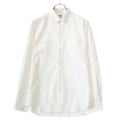 MXP / エムエックスピー : LONG SLEEVE STANDARD OXFORD BD SHIRT (FINE DRY WOVEN) :MX60101