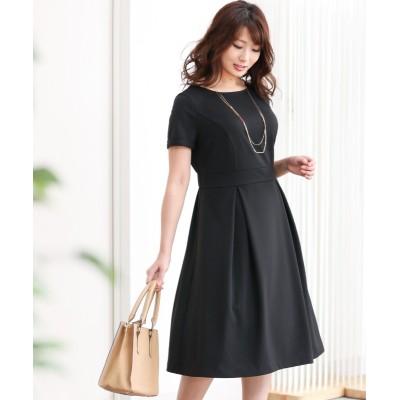 【大きい胸専用】カットソー半袖ワンピース (ワンピース)Dress