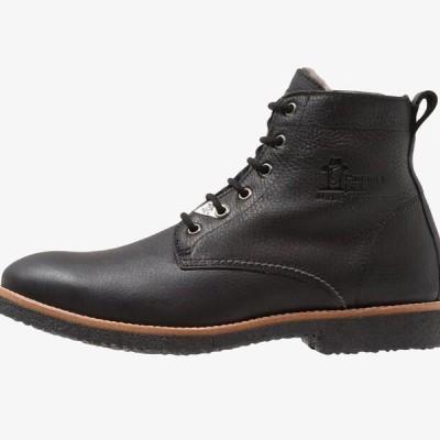 メンズ 靴 シューズ GLASGOW IGLOO - Lace-up ankle boots - black
