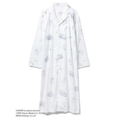 【ジェラートピケ】 ネルシャツドレス レディース OWHT F gelato pique