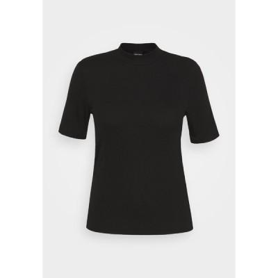 ピーシーズ カーブ Tシャツ レディース トップス PCBIRDIE TNECK - Basic T-shirt - black