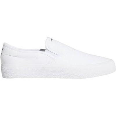 アディダス メンズ スニーカー シューズ 3MC Slip On Shoe - Men's Ftwr White/Ftwr White/Core Black