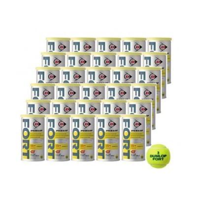 DUNLOP(ダンロップ) 硬式テニス ボール SAFETY TOP FORT [ フォート缶 ] 1缶(2球入) 30・・・