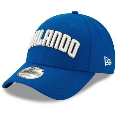 ニューエラ メンズ 帽子 アクセサリー Orlando Magic New Era Team Statement Edition 9FORTY Adjustable Hat