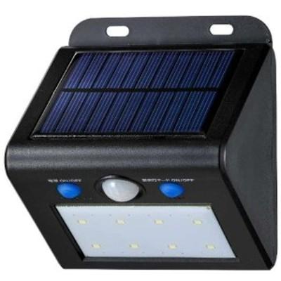 送料無料 ELPA 屋外用LEDセンサーウォールライト ソーラー式 電球色 ESL-K101SLL 防水 防犯 人感センサー セキュリティ エルパパ