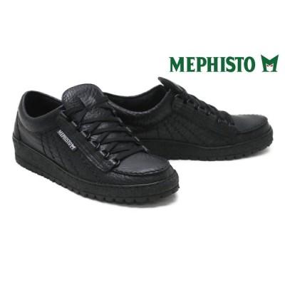メフィスト / MEPHISTO メンズ カジュアルシューズ rainbowr823c98 レインボー Mブラック