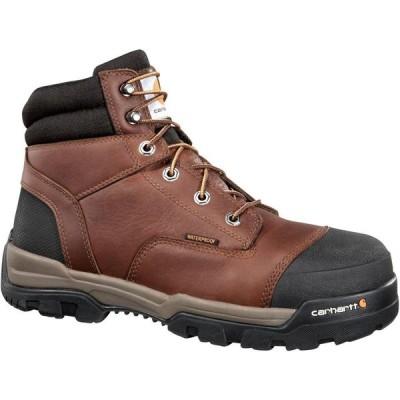 カーハート Carhartt メンズ ブーツ ワークブーツ シューズ・靴 Ground Force 6'' Waterproof Composite Toe Work Boots Peanut