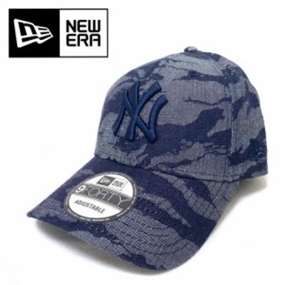 NEW ERA 【ニューエラ】 9FORTY Jacquard Denim タイガーストライプカモ ニューヨーク・ヤンキース【12853962】