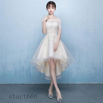 パーティードレス 結婚式 お呼ばれ ドレス ワンピース Aライン ナイトドレス 透け 演奏会 発表会 成人式