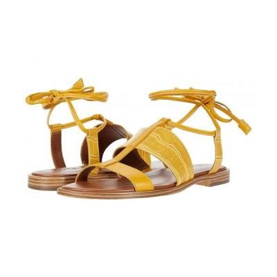 Naturalizer ナチュラライザー レディース 女性用 シューズ 靴 サンダル Fayee - Sunset Yellow Crocco Print Leather