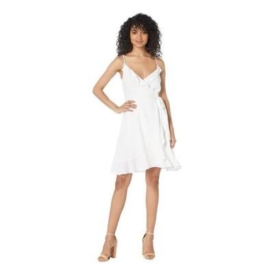 カップケーキアンドカシミア レディース ワンピース トップス Catana Ruffle Wrap Dress