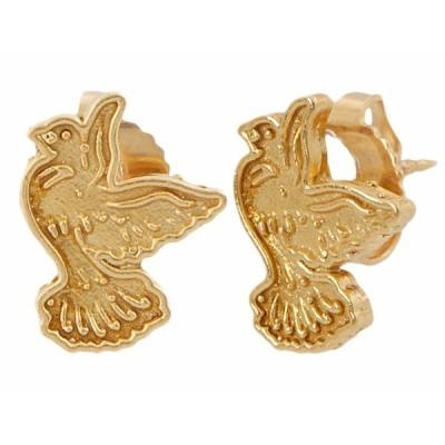 アレックスアンドアニ ピアス&イヤリング アクセサリー レディース Dove Post Earrings - Precious Metal 14KT Gold Plated
