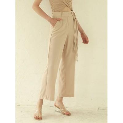 ACYM / Side string slacks パンツ WOMEN パンツ > スラックス