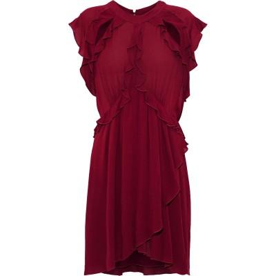 イロ IRO ミニワンピース&ドレス ボルドー 38 レーヨン 100% ミニワンピース&ドレス