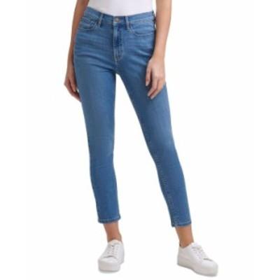 カルバンクライン レディース デニムパンツ ボトムス High-Rise Ankle Jeans Laguna