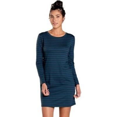 ドード アンドコー レディース ワンピース トップス Windmere II Long-Sleeve Dress - Women's Deep Teal Stripe
