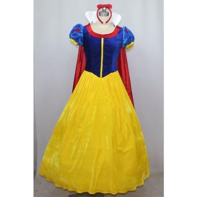 白雪姫 コスプレ 衣装 コスチューム ドレス 仮装