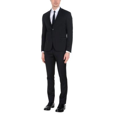 HAVANA & CO. スーツ ブラック 56 82% ポリエステル 15% レーヨン 3% ポリウレタン スーツ