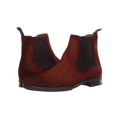 Magnanni マグナーニ メンズ 男性用 シューズ 靴 ブーツ チェルシーブーツ Riley - Cognac