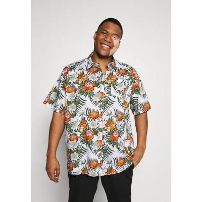 ジャックスス ポーツウェア  Tシャツ メンズ トップス PRINT TEE - Print T-shirt - white