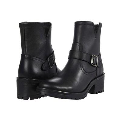 スティーブマッデン Grotto Booties レディース ブーツ Black Leather
