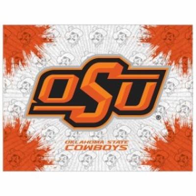 Holland Bar Stool Co. ホランド バー スツール スポーツ用品  Oklahoma State Cowboys 24 x 32 Printed Canvas Art