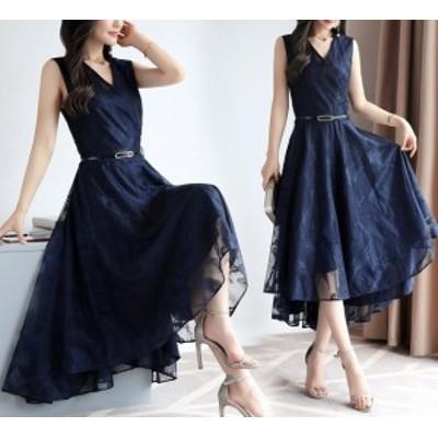 ドレス ワンピース ドレス キャバ ドレス 大きいサイズ ドレス 結婚式 ドレス 黒 ドレス 袖なし ドレス 結婚式 ドレス ミモレ丈 ドレス V