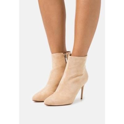 ビーノ レディース ブーツ ALMATY - High heeled ankle boots - nude