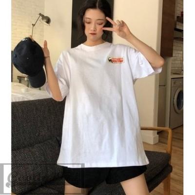 ダイナソー Tシャツ プルオーバー トップス カットソー レディース 韓国