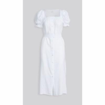 スリーパー Sleeper レディース ワンピース マキシ丈 ワンピース・ドレス Brigitte Maxi Dress White