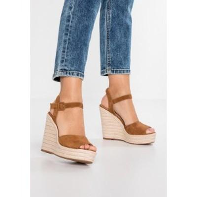 アルド レディース サンダル シューズ YBELANI - High heeled sandals - light brown light brown