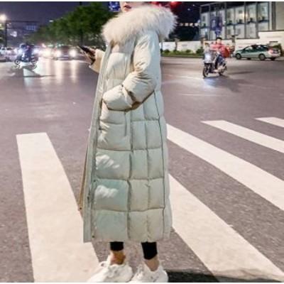 大きいサイズ  コート アウター ダウン フード ロングコート レディース ロング アウター  防寒 ロング レディース ファー ダウン 秋冬