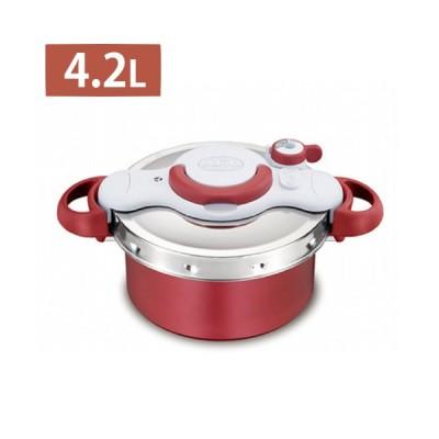 レシピ付 T-fal 圧力鍋 IH・ガス火両用 4.2L クリプソミニットデュオ P4704231 ティファール