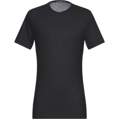 カングラ カシミア KANGRA CASHMERE メンズ Tシャツ トップス t-shirt Black
