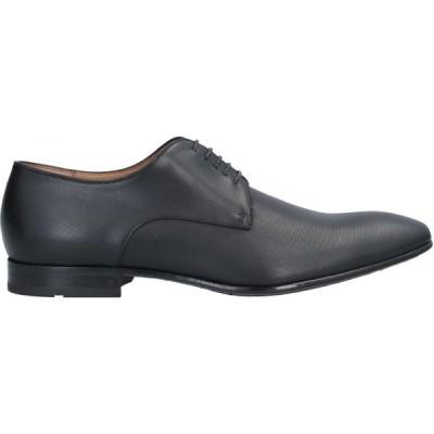 ヒューゴ ボス BOSS HUGO BOSS メンズ シューズ・靴 laced shoes Black