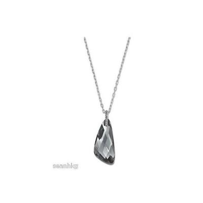 ネックレス スワロフスキー Swarovski Allegory Pendant Silver Night Crystal - 5032811
