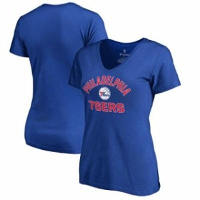 Fanatics Branded ファナティクス ブランド スポーツ用品  Fanatics Branded Philadelphia 76ers Womens Royal Plus Si