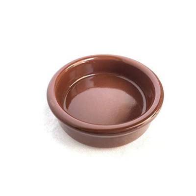 スペイン製耐熱陶器 CAZUELA カスエラ 9cm カラー:茶