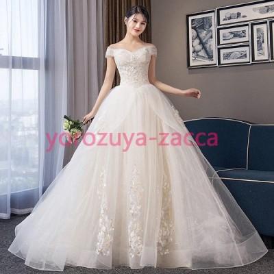 白いドレス エレガンス ワンピース 大人 花嫁 結婚式 披露宴 ホワイトドレス ウェディングドレス 花嫁ドレス 大きいサイズ 体型カバー フォーマル 20代 30代