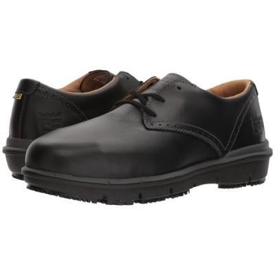 ティンバーランド オックスフォード シューズ メンズ Boldon Oxford Alloy Safety Toe SD Black Full Grain Leather