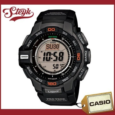 CASIO PRG-270-1 カシオ 腕時計 デジタル PRO TREK プロトレック メンズ ブラック シルバー