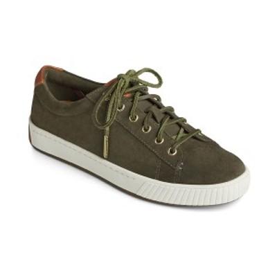 スペリー レディース スニーカー シューズ Women's Anchor PLUSHWAVE Sneakers Olive